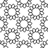 Seamless  background. Floral ornament. Eps 10 Stock Photos