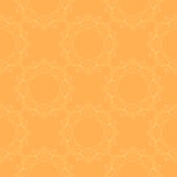 Seamless background with floral ornament. Vector. Orange floral pattern. Seamless background with floral ornament. Vector vector illustration