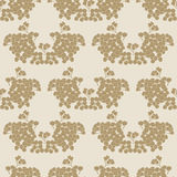 Seamless background with floral pattern Royalty Free Stock Photography