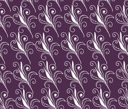 Seamless background floral. Seamless background of purple color Stock Images