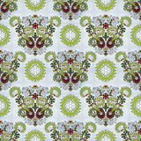 Seamless background with floral symmetrical elements. Stock Images