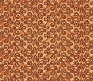Seamless background with a flower pattern. Royalty Free Stock Photo