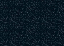 Seamless background with flower pattern. A seamless background with a dark flower pattern Stock Photos