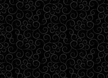 Seamless background with flower pattern. A seamless background with a dark flower pattern Royalty Free Stock Photo