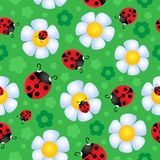 Seamless background flower theme 2 Royalty Free Stock Images