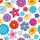 Seamless background flower theme 7 Royalty Free Stock Photography