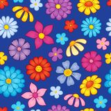 Seamless background flower theme 8 Stock Photography