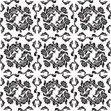 Seamless background flowers, floral - pattern. Stock Photo