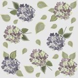 Seamless background from a flowers ornament, fashi Stock Photos