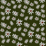 Seamless background of flowers. Seamless pattern from flowers roses on a white background royalty free illustration
