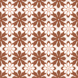 Seamless background of flowers. Seamless pattern from flowers roses on a white background Royalty Free Stock Photos