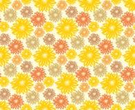 Seamless background flowers. Stock Photos
