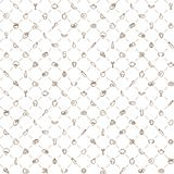 Seamless background food pattern Stock Photography