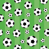 Seamless background. Football. Stock Image
