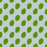 Seamless background with fresh green mint leaves. 10 eps vector illustration