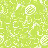 Seamless background with fruit Royalty Free Stock Photos