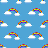 Seamless background with Gays icons Stock Photos