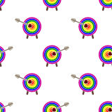 Seamless background with Gays icons Royalty Free Stock Images