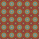 Seamless background with geometric ornament. Royalty Free Stock Photo