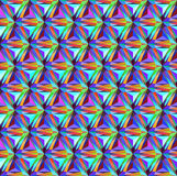 Seamless background with geometric patterns of triangular gems Royalty Free Stock Photo