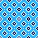 Seamless background. geometric shape pattern.  illustratio Stock Photography