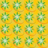 Seamless background of geometric shapes Stock Image