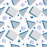 Seamless background geometric shapes Royalty Free Stock Photos