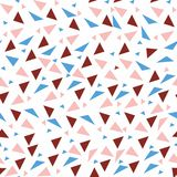 Seamless background from geometric shapes. Triangles of different sizes and shades of color. Texture seamless Royalty Free Stock Images