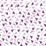 Seamless background from geometric shapes. Triangles of different sizes and shades of color. Texture seamless Stock Photography