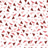 Seamless background from geometric shapes. Triangles of different sizes and shades of color. Texture seamless Royalty Free Stock Photo