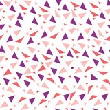 Seamless background from geometric shapes. Triangles of different sizes and shades of color. Texture seamless Royalty Free Stock Photography