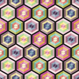 Seamless background geometry pattern Royalty Free Stock Photos