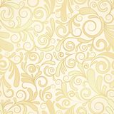 Seamless background of gold Royalty Free Stock Images