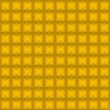 Seamless background from gold blocks. Stock Image