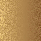 Seamless background of gold color Royalty Free Stock Photos