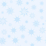 Seamless background gossamer star light blue color 2.  Stock Image