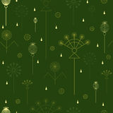 Seamless background with grass Royalty Free Stock Photo