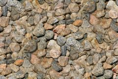 Seamless Background Gravel Stones Royalty Free Stock Photo