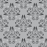 Seamless background gray and black Royalty Free Stock Photo