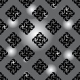 Seamless background gray and black Royalty Free Stock Images