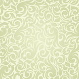 Seamless background of green in the Baroque Royalty Free Stock Photography