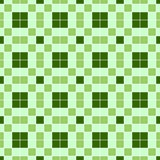 Seamless background in the green cell. Stock Image