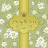 Seamless background of green. Seamless floral pattern for design, vector Illustration vector illustration