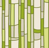 Seamless background, green stained glass. Stock Photography