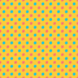 Seamless background with grunge circles in flat style. Illustration of Seamless background with grunge circles in flat style Stock Image
