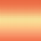 Seamless background with halftone stripes in warm colors Stock Photos