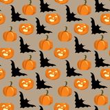Seamless background for halloween Royalty Free Stock Photo
