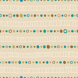 Seamless background of hand drawn nets and dots Royalty Free Stock Images