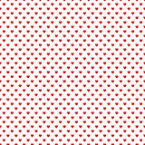 Seamless background with hearts Royalty Free Stock Photography