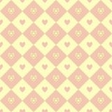 Background with hearts Stock Photography